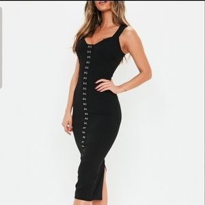 *BFD $20* Missguided milkmaid hook and eye dress